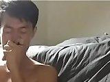 bareback, chinese, cock, cum, cumshot, facial, foot, gay