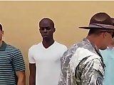 army, euro, gay, outdoor, sex, threesome, uniform