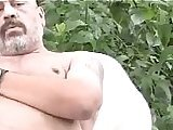 big cock, chubby, daddy, gay, jerking, mature, older, soloboy